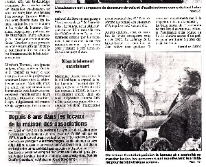 ZOOM : Article de presse bas